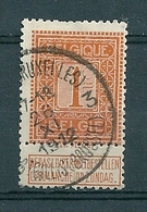 108 Gestempeld  ST GILLES BRUXELLES - ST GILLIS BRUSSEL 3 - COBA 4 Euro - 1912 Pellens