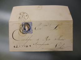 D.PEDRO V - MARCOFILIA - ALCOBAÇA - 1855-1858 : D.Pedro V