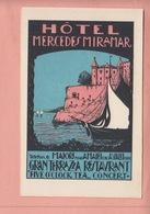 OLD POSTCARD -  ITALY - ADVERTISING - HOTEL - MAIORI NEAR AMALFI - Salerno