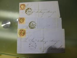 D.LUIS I - LOTE TRES CARTAS - 1862-1884 : D.Luiz I