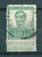114 Gestempeld  ST JOSSE TEN NOODE 2A - Cote 18,50 + COBA 7 Euro - 1912 Pellens
