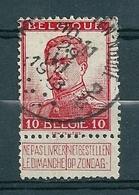 118 Gestempeld  ST JOSSE TEN NOODE 2B - COBA 7 Euro - 1912 Pellens