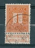 108 Gestempeld  ST NICOLAAS C - COBA 7 Euro - 1912 Pellens