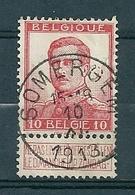 118 Gestempeld  SOMERGEM - COBA 8 Euro - 1912 Pellens