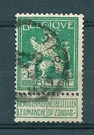 110 Gestempeld  TERNATH - COBA 8 Euro - 1912 Pellens