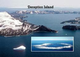 Antarctica Deception Island View New Postcard - Sonstige