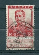 111 Gestempeld  TERNATH - COBA 8 Euro (zie Opm) - 1912 Pellens