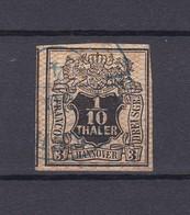 Hannover - 1856/57 - Michel Nr. 12 - Gest. - 70 Euro - Hannover