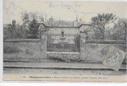 Meung-sur-Loire-Maison Habitée Par Ingres , Peintre Français Vers 1860 - Autres Communes
