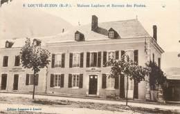 CPA 64 Pyrénées-Atlantiques Louvie Juzon Maison Laplace Et Bureau Des Postes - Frankrijk