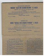 Halen: Slag Der Zilveren Helmen (6 Kaarten) - Guerre 1914-18