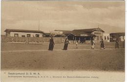 Namibie  Swakopmund D.S.W.A  Swakopmunder Buchhanflung  G M B H Druckerei Deutsch Carl Muller  Hoftr Altenburg Allemagne - Namibië
