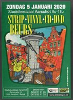 Publiciteit Strip.Vinyl.Cd.Dvd Beurs Aarschot Januari 2020 - Livres, BD, Revues
