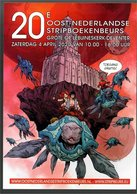 Publiciteit 20e Oost-Nederlandse Stripboekenbeurs April 2020 - Livres, BD, Revues