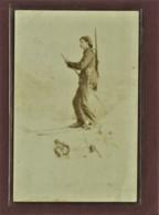 SUISSE - ARMEE SUISSE - CARTE PHOTO - GOTTHARD - MILITAIRE A SKI - 1900 - Suisse
