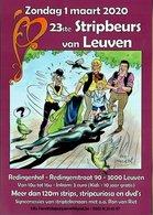 Publiciteit 23ste Stripbeurs Van Leuven Maart 2020 - Livres, BD, Revues