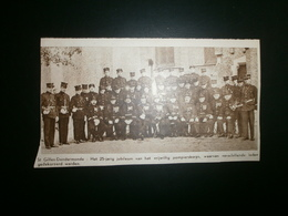 ST.GILLES DENDERMONDE. Brandweer - Vrijwillig Pompierskorps - Historische Dokumente