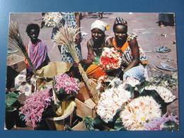 Carte Postale Afrique Marchandes De Fleurs - Sonstige