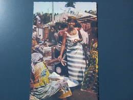 Carte Postale Afrique Marché Africain - Sonstige