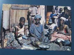 Carte Postale Sénégal La Médina Préparation Du Thé - Senegal