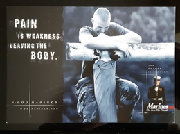 Marines Carte Postale - Advertising
