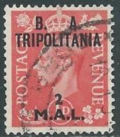 1950 OCCUPAZIONE BRITANNICA TRIPOLITANIA BA USATO 2 MAL - RB39-3 - Tripolitania