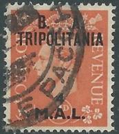 1950 OCCUPAZIONE BRITANNICA TRIPOLITANIA BA USATO 4 MAL - RB39-9 - Tripolitania