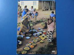 Carte Postale Afrique Scène De Marché - Sonstige