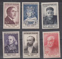 France Poste  N° Yvert 989 à 994 (neuf Sans Charnière) - Francia