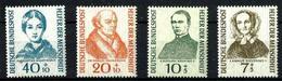 Alemania Federal Nº 98/101 Nuevos. Cat.52,50€ - Unused Stamps