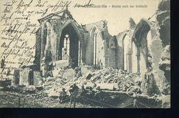 REMENOVILLE 1916 Kirche Nach Schlacht - France