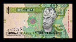 Turkmenistan 1 Manat 2012 Pick 29a SC UNC - Turkmenistán