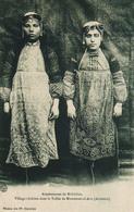 Armenië : Arméniennes De BISBICHAN Village Chrétien Vallée De Mamouret Ul Aziz , Photo Of Old  Postcard, 2 Scans - Arménie
