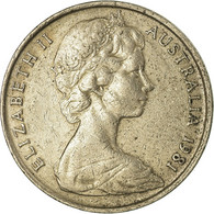 Monnaie, Australie, Elizabeth II, 10 Cents, 1981, TTB, Copper-nickel, KM:65 - Decimal Coinage (1966-...)