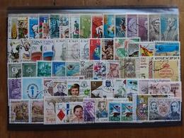 SPAGNA Anni '60/'70 - Lotto 60 Francobolli Differenti Timbrati × 0,05 Cad + Spese Postali - 1931-Heute: 2. Rep. - ... Juan Carlos I