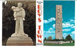 4180v: AK USA 1964, Boys Town, Gelaufen Nach Schweden - Vereinigte Staaten