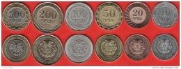 Armenia Set Of 6 Coins: 10 - 500 Dram 2003-2004 UNC - Armenia
