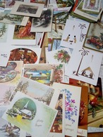 90 Cp Et Mignonette Bonne Annee - Postcards