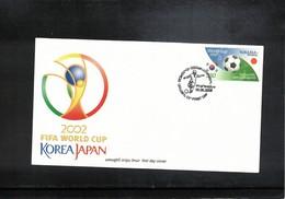 Belarus 2002 World Football Cup South Korea + Japan FDC - Copa Mundial