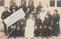 ROCHEFORT Sur MER -  Hôpital Auxiliaire N°101 En 1917 ( Carte-photo ) - Rochefort