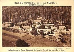 88 - Senones - Colonie Sanitaire De La Combe (publicité Format Carte Postale Grand Format) - Senones