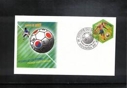 New Caledonia 2002 World Football Cup South Korea + Japan FDC - Copa Mundial