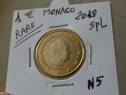 RARE ***  1 EURO MONACO 2018 Spl  ( 2 Photos ) - Monaco