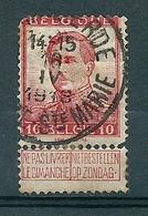 118 Gestempeld  MARIA-LIERDE - LIERDE STE MARIE - COBA 15 Euro (zie Opm) - 1912 Pellens