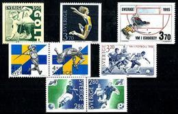 Suecia 6 Series En Nuevo. Cat.16,50€ - Sweden