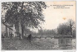 SAINT-MAURICE SUR VINGEANNE - Le Pont - Vue Amont - Francia