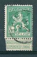 110 Gestempeld  THIELT - COBA 4 Euro - 1912 Pellens
