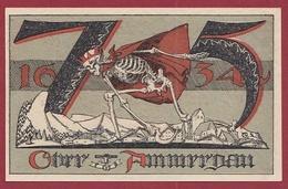 Allemagne 1 Notgeld 75 Pfenning Stadt Oberammerdau Dans L 'état N °5419 - [ 3] 1918-1933 : Weimar Republic