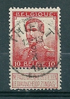 111 Gestempeld  THIELT - COBA 4 Euro - 1912 Pellens