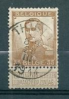 113 Gestempeld  THIELT - COBA 4 Euro - 1912 Pellens